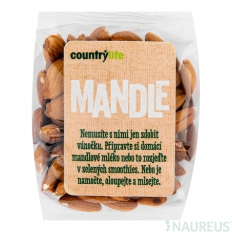 Mandle BIO 250g COUNTRY LIFE