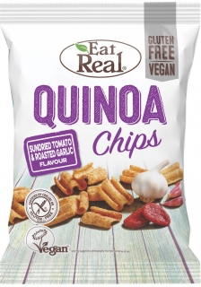 Chipsy Quionoa čenek/rajčata 30g EAT REAL
