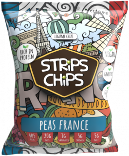 Strips chips PEAS FRANCE 90g YESCHIPS